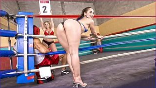 bangbros two studs fight for milf sara jay and kristina rose and 039 s booties