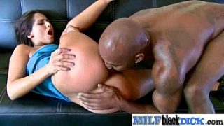 Mature Lady (reena sky) Get Busy On Black Monster Long Hard Cock clip-22